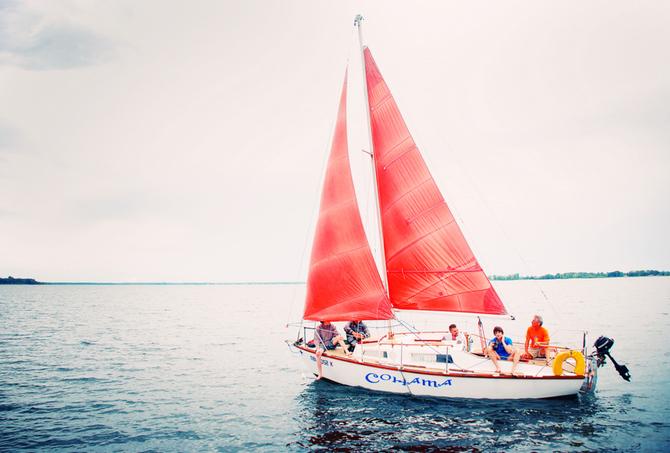 """Прогулки на яхте """"Соната"""""""