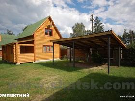 Коттедж Деревянный дом Компактный