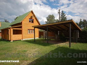 Cottage The wooden house village Svitiaz