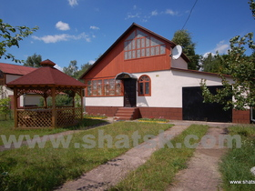 Cottage Міра lake Short (vil. Melnyky)