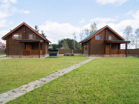 База отдыха Меж двух озер Коттедж №1 и №2