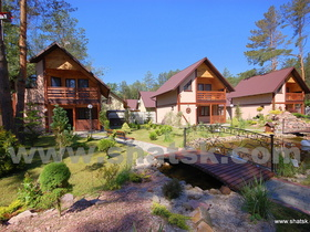 Cottage VILLA VITA Camp (Lake Svitiaz)